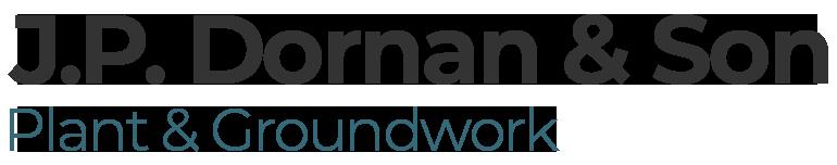 J.P. Dornan & Son - Plant & Groundwork logo